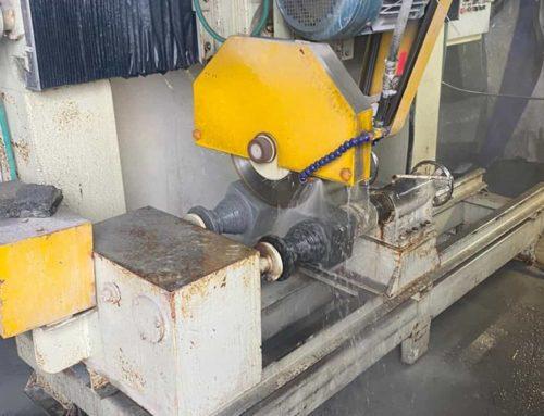 Новый станок для изготовления гранитных ваз
